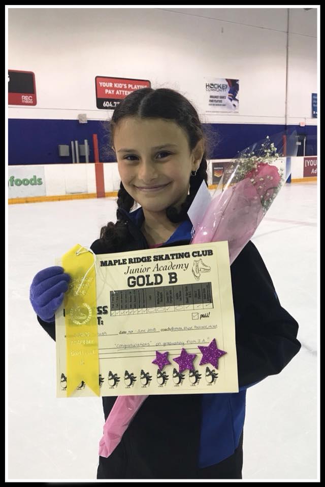 Congratulations Talia!!